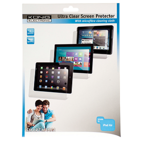 Ultra clear screenprotector voor Ipad Air