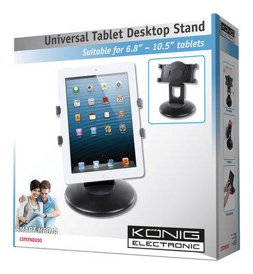 Universele desktopstandaard voor tablets
