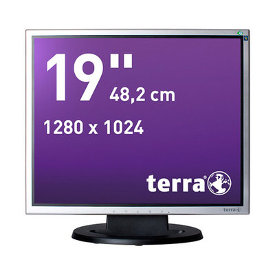 TERRA LED 1940 silver/black DVI GREENLINE PLUS