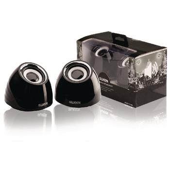 2.0 speakerset USB voeding 2x 3 W draagbaar zwart