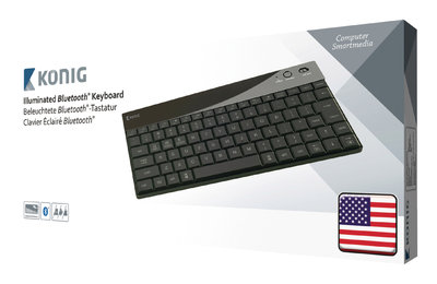 Konig Verlicht Bluetooth-toetsenbord
