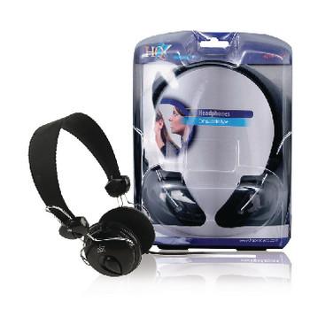 HQ Compact hifi hoofdtelefoon 1,10 m