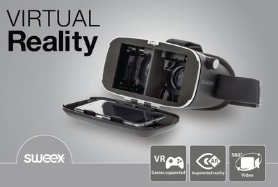 Sweex Virtual Reality-Bril Zwart