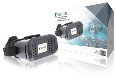Konig Virtual Reality-Bril Zwart