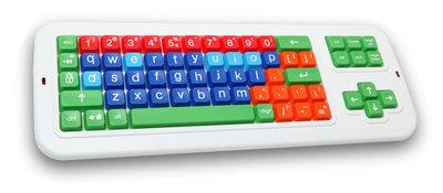 Clevy toetsenbord draadloos gekleurd