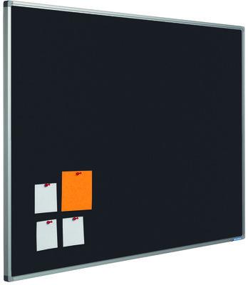 Prikbord Softline profiel 16mm bulletin Zwart