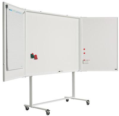 Verrijdbaar onderstel voor kabinetkasten, wit