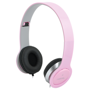 Headset Stereo,with Microphone, 3.5mm, pink