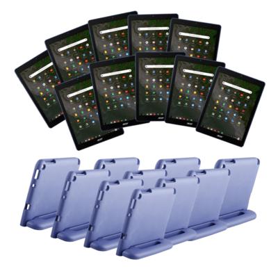 Actiebundel: Acer Chromebook Tab 10 - 10 stuks met hoes