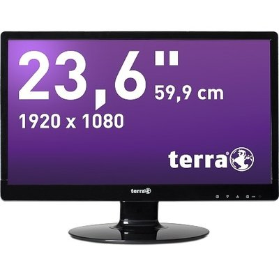 TERRA LED 2435W HA Black DP+HDMI GREENLINE PLUS