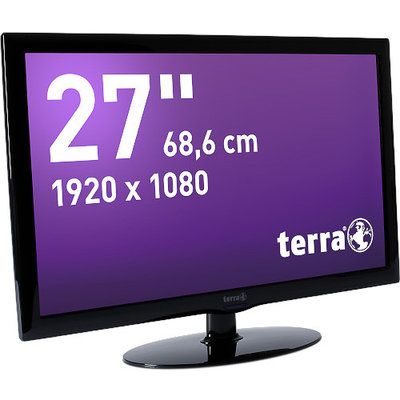 TERRA LED 2756W piano black HDMI GREENLINE PLUS