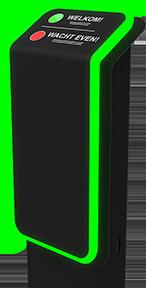 SLIM Access 220 volt met 2 sensors
