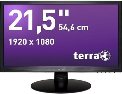 TERRA LED 2212W Black DVI GREENLINE PLUS